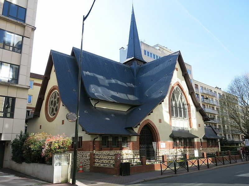 église de la Petite Etoile Levallois Perret